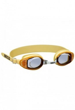 BECO Acapulco Schwimmbrille gelb